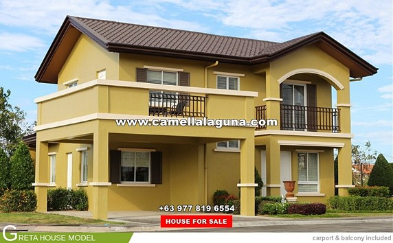 Camella Laguna Philippines House Lot For Sale In Laguna
