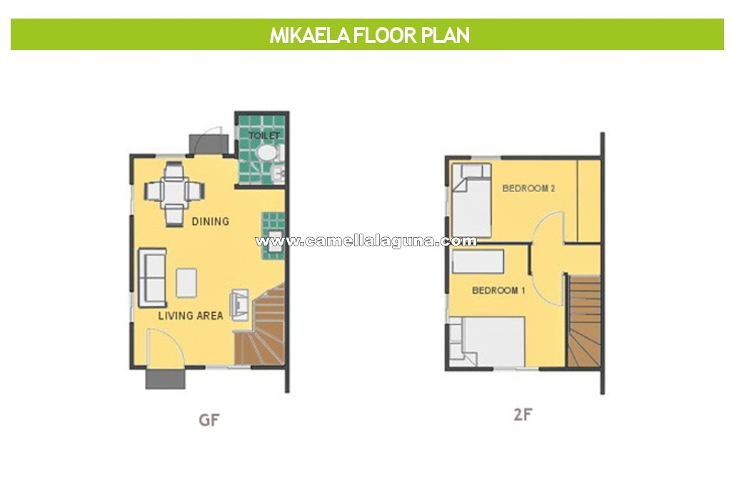 Mikaela  House for Sale in Laguna