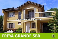 Freya House and Lot for Sale in Laguna Philippines