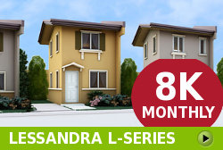 Lessandra Affordable Houses in  Camella Laguna