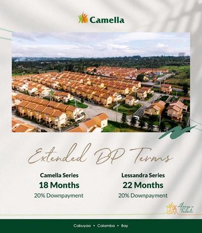 Promo for Camella Laguna.