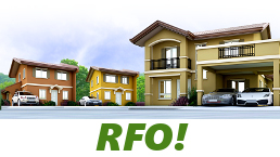 RFO Units for Sale in Camella Laguna.